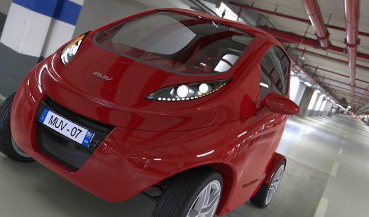 Vista frontal del vehículo / Pedro Priego