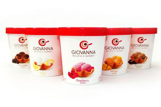 Cinco helados / Mara Rodríguez