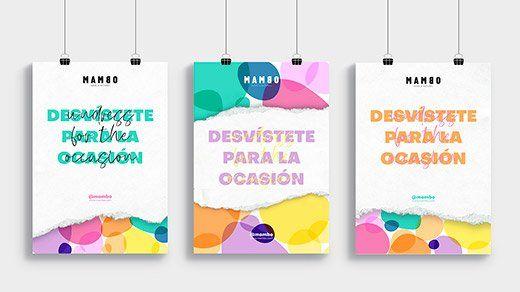 Mambo. Carteles promocionales / Raquel Blanco