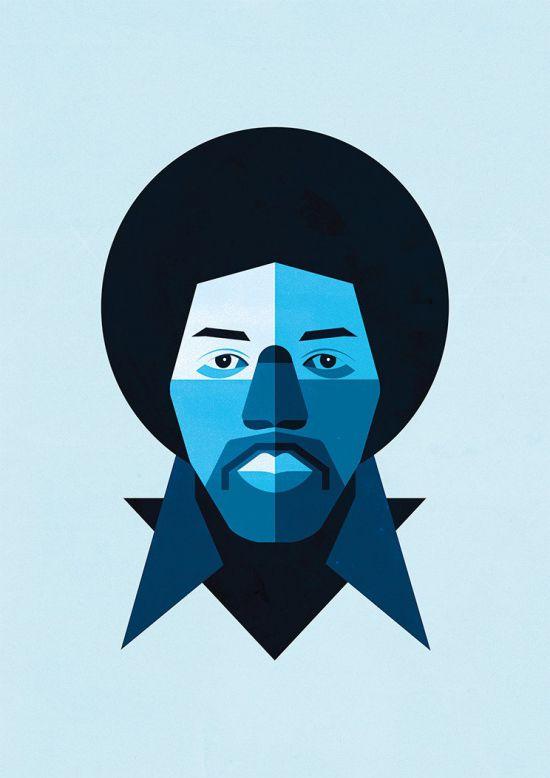 Jimi Hendrix / Rubén Montero