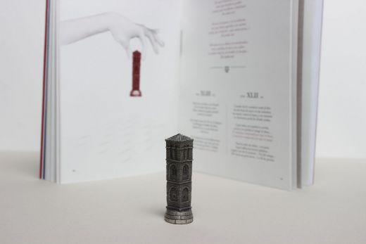 Detalle de ilustración y torre
