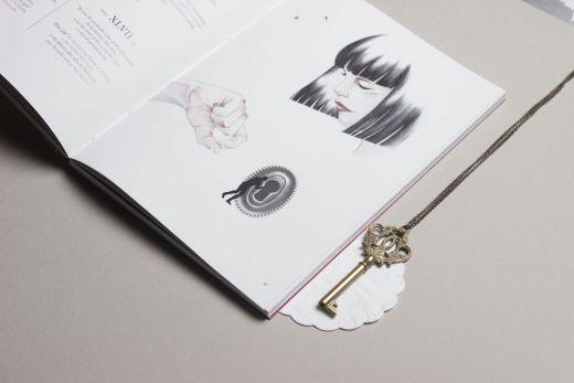 Detalle de ilustración y llave