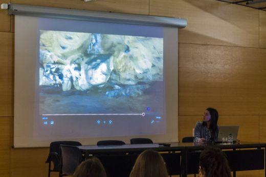 Rocío Cachero Crespo, de Dogram, durante su conferencia