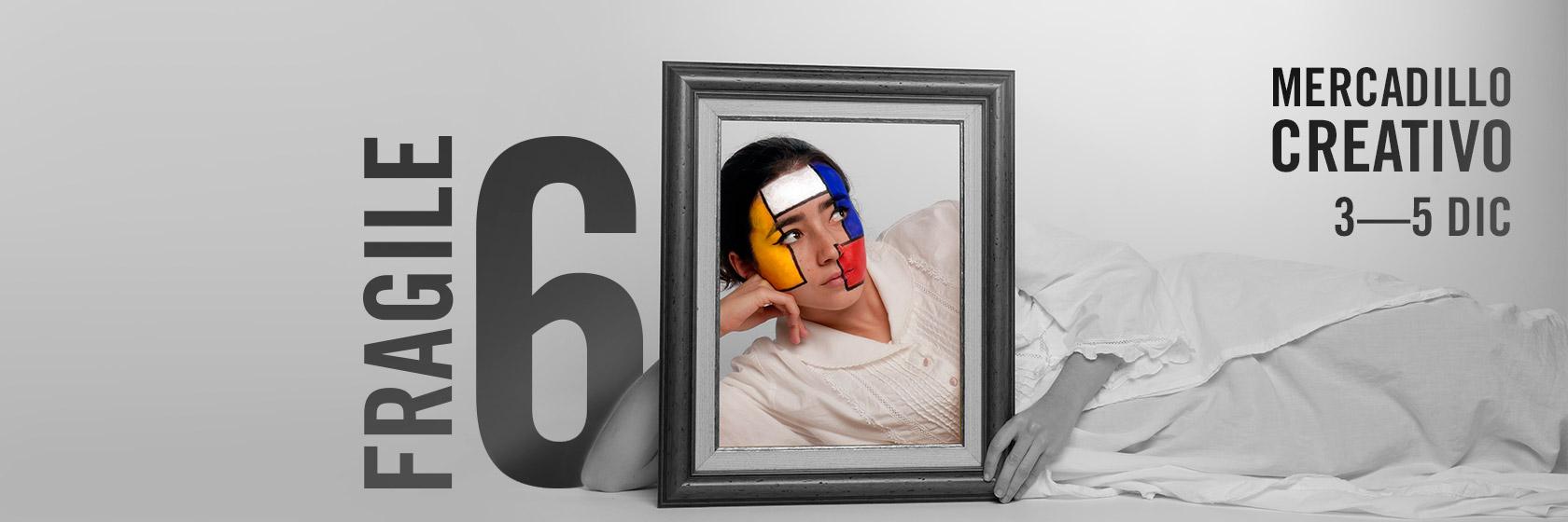 Imagen de Fragile 6. Diseño: Daniel Bernués (@bernu.es), Celia Cuervo (@celiacuervo), Sandra Rodrigo (@entrelazadasdesign) y Maya Alonso (@ukiyo_may). Modelo: Lía Marcos (@liamarcosr)