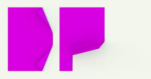 Letras DP de papel