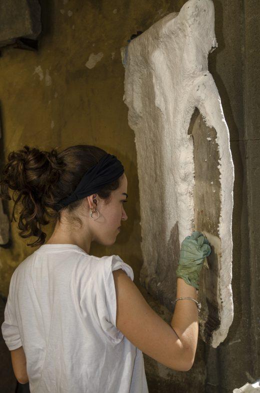 Museo Arqueológico Nacional de Florencia – Restauración Cortile Romano