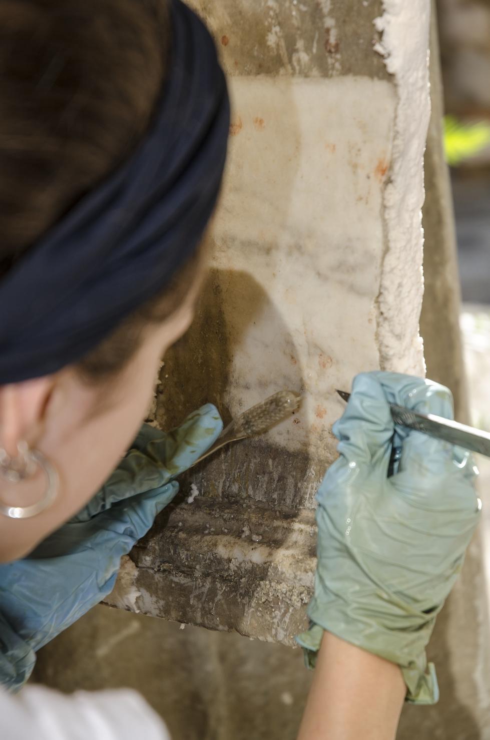 Museo Arqueológico Nacional de Florencia - Restauración Cortile Romano