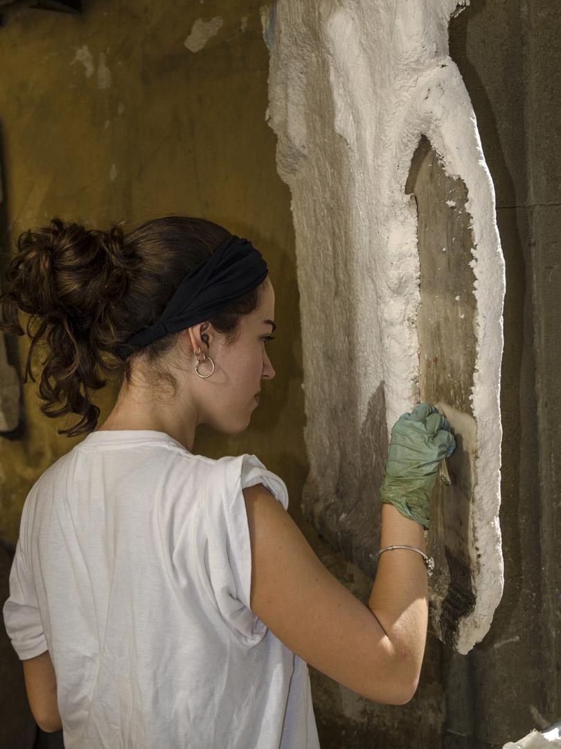 Restauración Cortile Romano