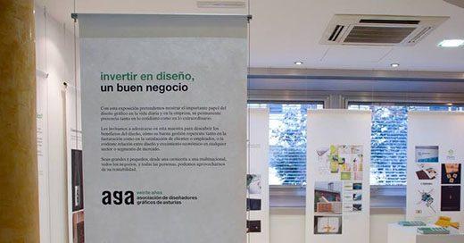 Exposición organizada por AGA