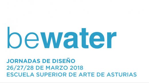 """Imagen de las Jornadas de Diseño """"Lux01: be water"""""""