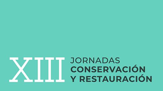 Logotipo de las XIII Jornadas de Conservación y Restauración