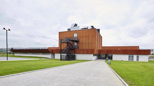 Vista de la sede de restauración